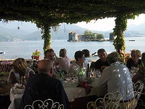 Restaurant Ca Bianca zwischen Cannobio und Cannero Riviera