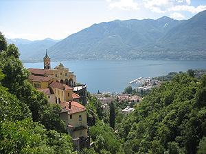 Madonna del Sasso, Locarno, Lago Maggiore