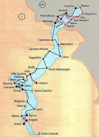 Lago Maggiore Karte Mit Orten.Anreise Und Reisezeit Reiseführer Lago Maggiore Lago D Orta
