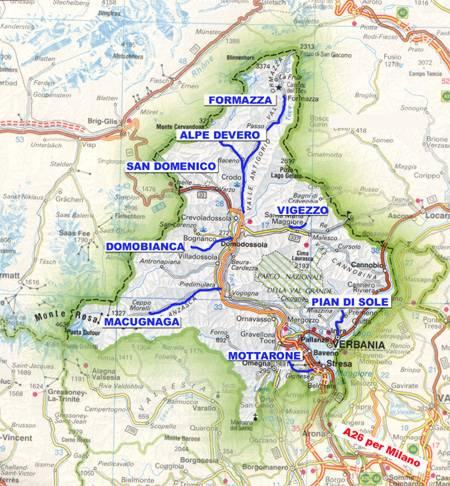 Lago Maggiore Karte.Ski Fahren In Der Umgebung Des Lago Maggiore Reisefuhrer