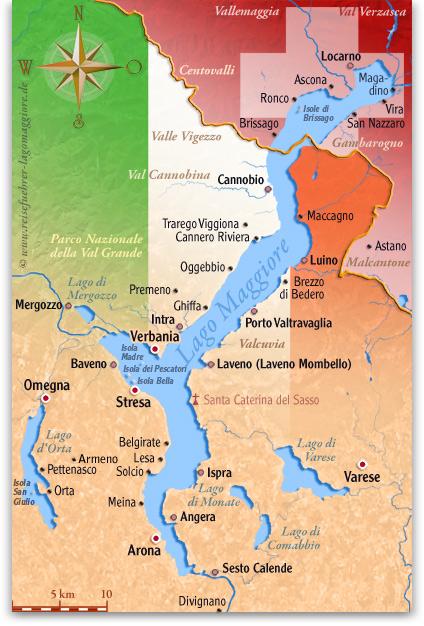 Lago Maggiore Karte.Meina Lago Maggiore Karte Kleve Landkarte